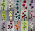 INCREDIBLY REALISTIC ARTIFICIAL FLOWERS - GRASS AND FLOWERS - MANY COLOURS