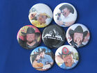 Colt Ford set of 7 Pinback Button Badge Pins country ride and biscuts