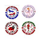 Personalised Birthday Party Stickers Labels Goodie Bags or Favours Many Designs