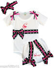 Personalized Baby Girl Onez, Diaper Cover, Hairbow Blk -H Pink Zebra Free Ship