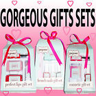 GIFT SETS  French Nails Perfect Lips Cosmetic GIRLS Gift set Make up Polishes