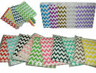 NEW Chevron Paper Bags x 24 Lolly Loot Candy Buffet Wedding Party Favours Gift