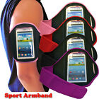 4 COLOUR SPORT CYCLING GYM ARMBAND WITH STRAP FIT HTC ONE SV