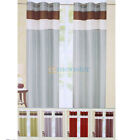 """2 Panels 60""""x84"""" Grommet ECHO Curtains Window Covering Panel New"""