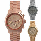 Rose Gold - Gold - Silver MK KING Unisex watch RRP:£35