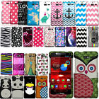 For Motorola DROID RAZR XT907 Verizon PATTERN HARD Protector Case Phone Cover