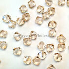 6mm Silk (391) Genuine Swarovski crystal 5328 / 5301 Loose Bicone Beads