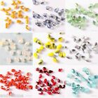 100pcs Czech Glass Crystal Teardrop Loose Faceted Beads High Quality Beads 3MM