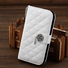 cute Crystal Rose Leather Wallet Diamond Case Cover for  Samsung Galaxy S4 I9500