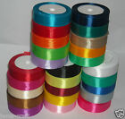 "18mm 3/4""  SATIN RIBBON WEDDING PARTY TABLE ANNIVERSARY CAKE FLOWER DECORATING"