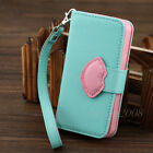 Cute 3D Lips Flip Leather Holder Wallet Card Case Skin Cover For iPhone 4 4G 4S