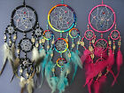 DREAM CATCHER WITH COWRIE SHELLS AND BEADS FAIR TRADE-NEW