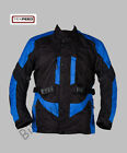 Mens CE Armoured Wateproof Motorcycle / Motorbike Textile Cordura Racing Jacket