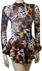 Skating Dress- ANIMAL PRINT - ALL SIZES AVAILABLE