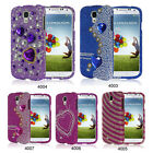 Deluxe Bling Rhinestone Diamond Hard Case Cover for Samsung Galaxy S4 S IV i9500