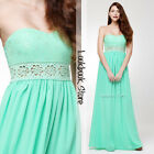 Women Mint Cut-out Floral Crochet Lace Sweetheart Pleated Bodice Cup Maxi Dress