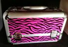 Aluminium Makeup Case/ Cosmetic Case w/Tray and one FREE mineral make up color