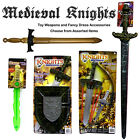 KNIGHTS - Fancy Dress / Kids Dress Up - Assorted Weapons & Accessory Sets - NEW