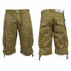 BRAND NEW MENS ETO EMS254 TOBACCO CARGO SHORTS   BARGAIN REDUCED PRICE