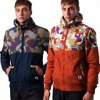 Mens Fly53 Hooded Jacket - Cantillo - Blue / Orange - RRP £70 - SALE NOW ON