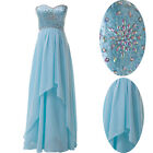 Stock Lady's Gorgeous Wedding Bridesmaid Evening Party Formal Dresses Prom Gowns