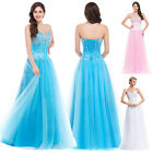 PLUS BLUE DESIGNED Sequins Corset Evening/Formal/Ball gown/Party/Prom Dress Long
