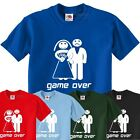 Game Over Funny Wedding Stag Hen Do T-Shirt