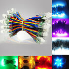 50x Waterproof Single Color Xmas Decoration Diffused Punctiform LED Pixel Light