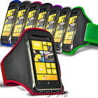 SPORTS ARMBAND STRAP CASE AND PROTECTIVE POUCH FOR NOKIA LUMIA 720 MOBILE PHONE