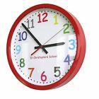 Roco Verre School Nursery Wall Clocks Personalised Custom