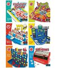 KIDS RANGE OF 6 FAMILY BOARD GAME TRADITIONAL GAMES CHILDRENS FRUSTRATION