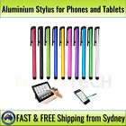 Aluminium Stylus for Mobile Phone, iPad, Galaxy, iPhone, Touch Screen, Tablet