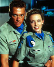 Jean-Claude Van Damme & Kylie Minogue [1013924] 8x10 photo (other size choices)