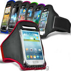 COLOUR SPORTS ARMBAND STRAP POUCH CASES FOR APPLE iPHONE MOBILES