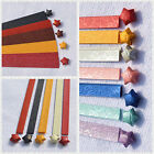 Thick embossed Lucky Star Folding Origami Paper strip ,US SELLER!