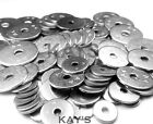 A4 Marine Grade Stainless Steel Penny/Mudguard/Repair Washers