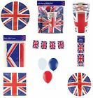 Union Jack Diamond Jubilee/Olympic Games Party Tableware:Cups,Plates,Table Cover