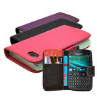 3 COLOUR PU LEATHER WALLET FLIP PHONE CASE COVER FOR BLACKBERRY CURVE 9720