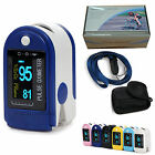 CE&FDA ,NEW,Fingertip Pulse Oximeter with case,display of SPO2,PR,6 COLOR,Sales