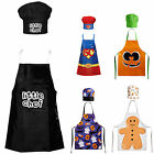 New Quality Childrens Kids Kitchen Apron & Butcher Chef Aprons Special Gift Sets