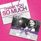 Personalised Birthday Party Thank You Cards 18th 21st 30th *Free Draft*
