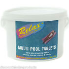 Relax Multi Pool Chlorine Tablets Swimming Pool Algicide/Chlorine/Clarifier