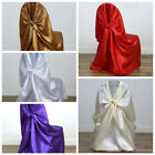 100 Universal SATIN Self Tie for any kind of CHAIR COVER Wedding Decorations