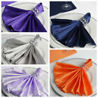 "50 pcs 20"" SATIN NAPKINS Wedding Party Catering Table Top Wholesale Supplies"