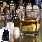 1/9Pcs Ceramic Stone Ice Cubes Chillers for Whiskey Wine Beverage Drinks Freezer