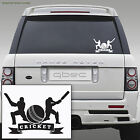 CRICKET car sticker decal 18cm x 12cm