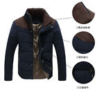 TOP Quality Men's Winter Warm Thermal Wadded Jacket Cotton-padded coat Winter
