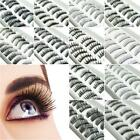 False Eyelashes High Quality Premium Pairs New Natural Looking Eyelash Fake X 10