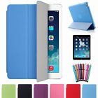 Ultra Thin Magnetic Smart Case Cover + Back Case For Apple iPad Air sleep / wake