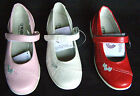 GIRLS KID LEATHER LINED FORMAL WEDDING PARTY FLAT SHOES PUMPS SIZES UK 8 9 10 11
